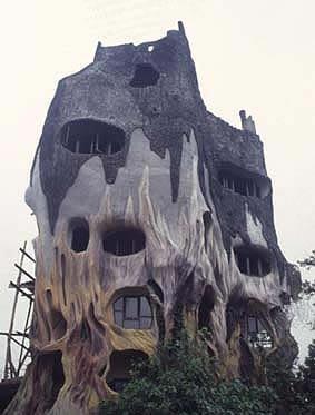 Maisons insolites : maisons à l'architecture étrange et bizarre